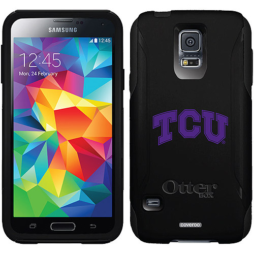 TCU Logo Design on OtterBox Commuter Series Case for Samsung Galaxy S5