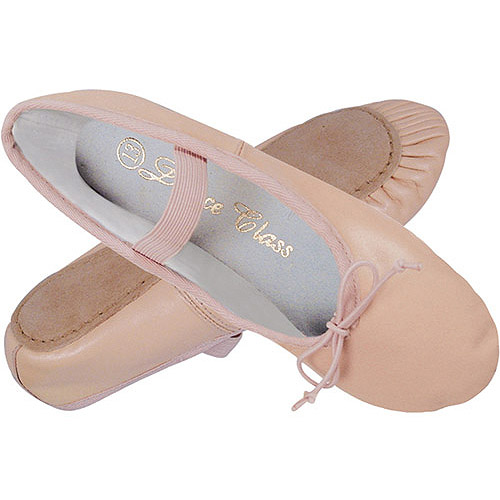 Dance Class by Trimfoot Girls' Leather Ballet Shoes