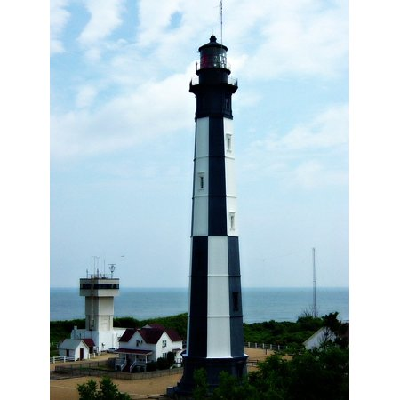 - Shore Tower Light House Ocean Poster Print 24 x 36