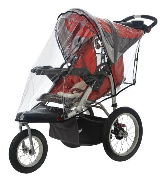 Swivel Wheel Jogger Weather Shield