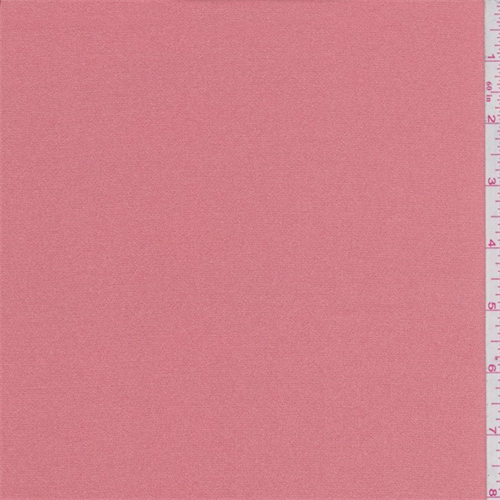 Coral Mist Polyester Charmeuse, Fabric By the Yard