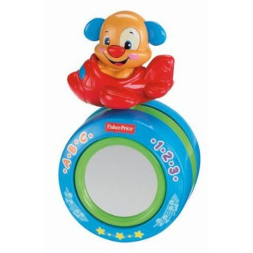 Fisher Price Laugh & Learn Puppy's Crawl-Along Ball by Fisher-Price