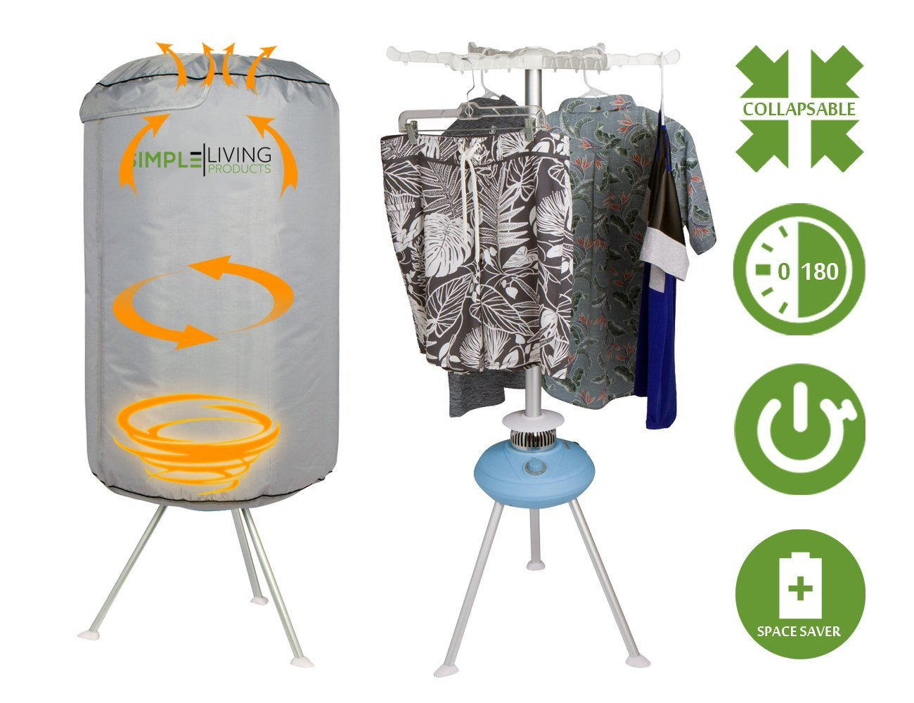 Exceptional Mini Collapsible Round Portable Clothes Dryer   Clothing Dryer That Dries  Clothes Within 30 Minutes   Holds Up To 10KG   Walmart.com