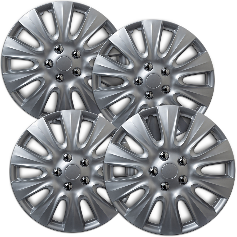 Replacement 5 Double Spokes All Painted Silver Factory Alloy Wheel Fits Chrysler 200