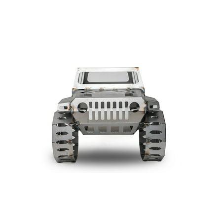 Fab Fours FFFPJP-B Fire Pit - Fab Fours Jeep