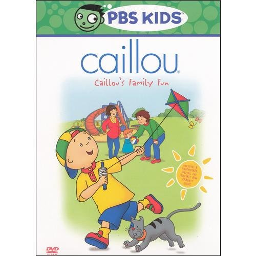 Caillou: Caillou's Family Fun (Full Frame)