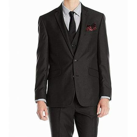 Kenneth Cole Two Button Blazer (Mens Short Slim Fit Two Button Blazer 36)