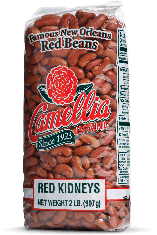 Camellia Famous New Orleans Red Kidney Beans 2 Lb Walmart Com Walmart Com