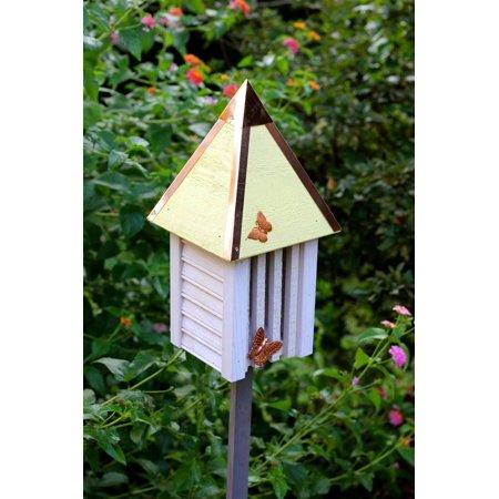 Flutterbye Butterfly House in Yellow (Yellow Butterfly House)