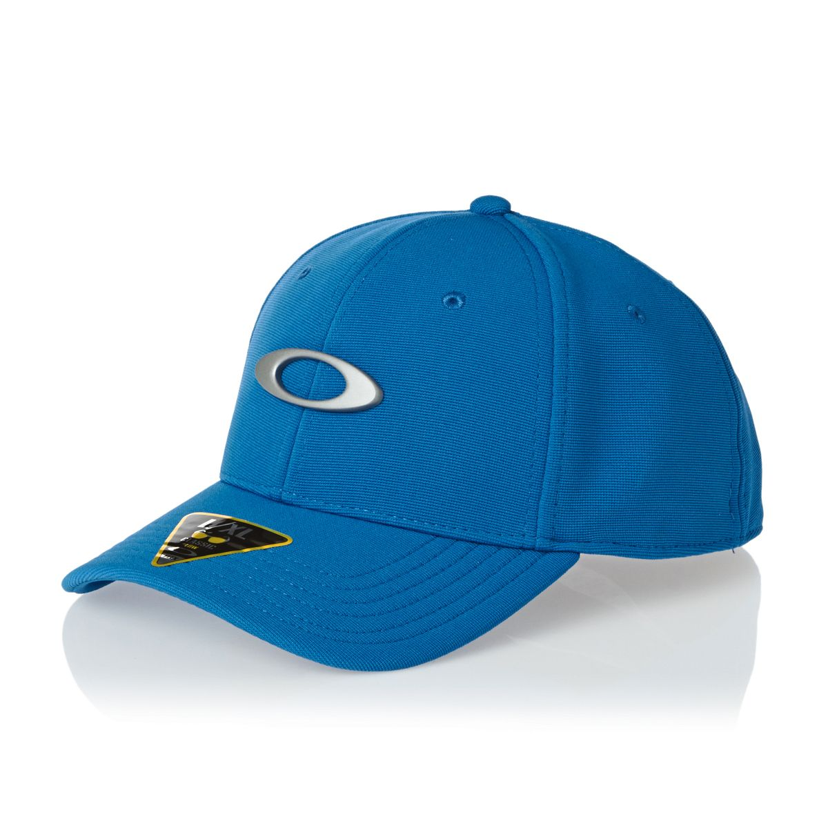 NEW Oakley Tincan Ozone Blue/Silver Fitted L/XL Golf Hat/Cap
