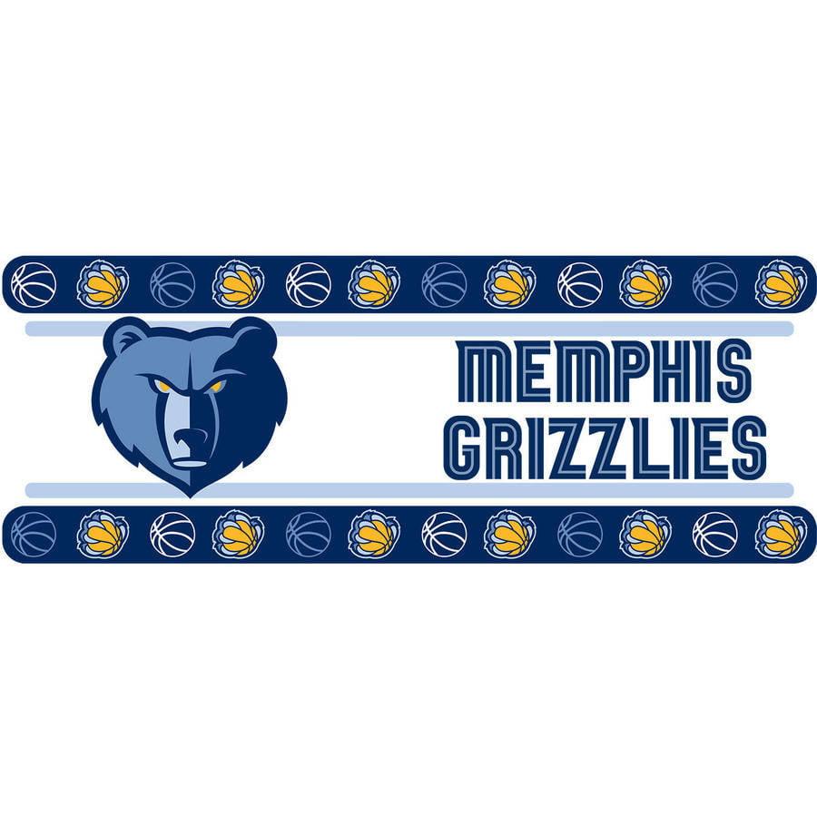 NBA Memphis Grizzlies Wall Border