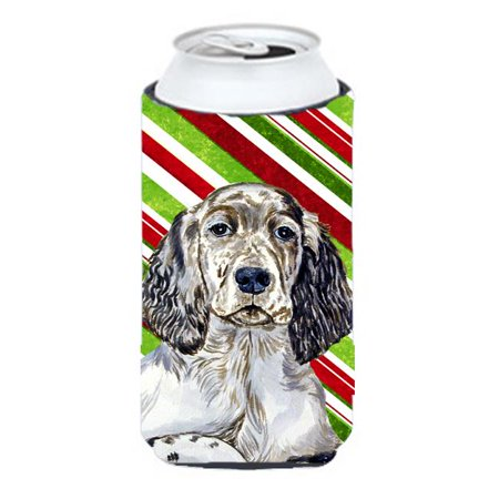 Carolines Treasures LH9232TBC English Setter Candy Cane Holiday Christmas Tall Boy bottle sleeve Hugger - 22 To 24 oz. - image 1 of 1