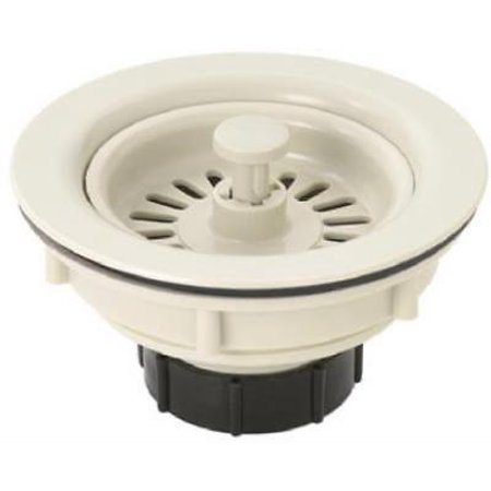 2PK Master Plumber Almond Basket Sink Strainer For 3-1/2