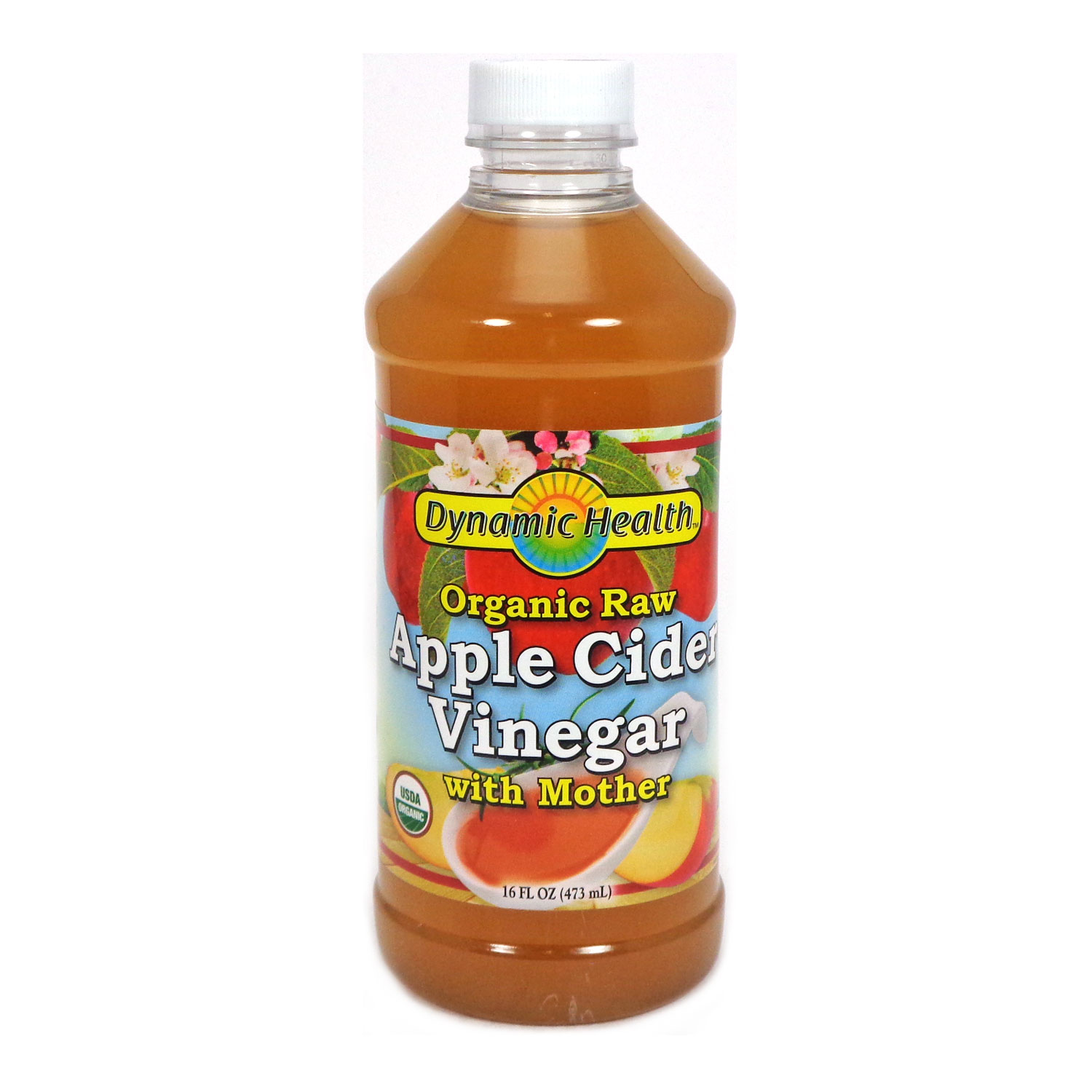 Apple Cider Vinegar by Dynamic Health 16 Fluid Ounces by