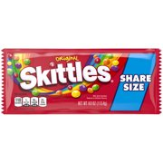 SKITTLES Original Fruity Candy Share Size, 4 oz. Bag