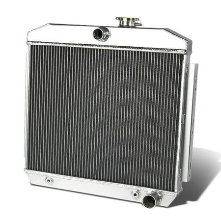 ModifyStreet For 55-57 Chevy Two-Ten Series Series V8 MT V8 SBC 3-Row  Triple Core Full Aluminum Radiator