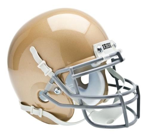 Shutt Sports NCAA Mini Helmet, Notre Dame Fightin Irish