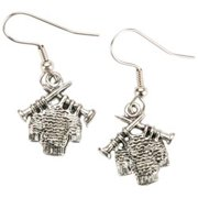 Charming Accents French Wire Earrings-Sweater
