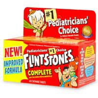 Flintstones Complete Childrens Multivitamin/Multimineral Chewable Tablets - 60 Ea](Flint Stone)