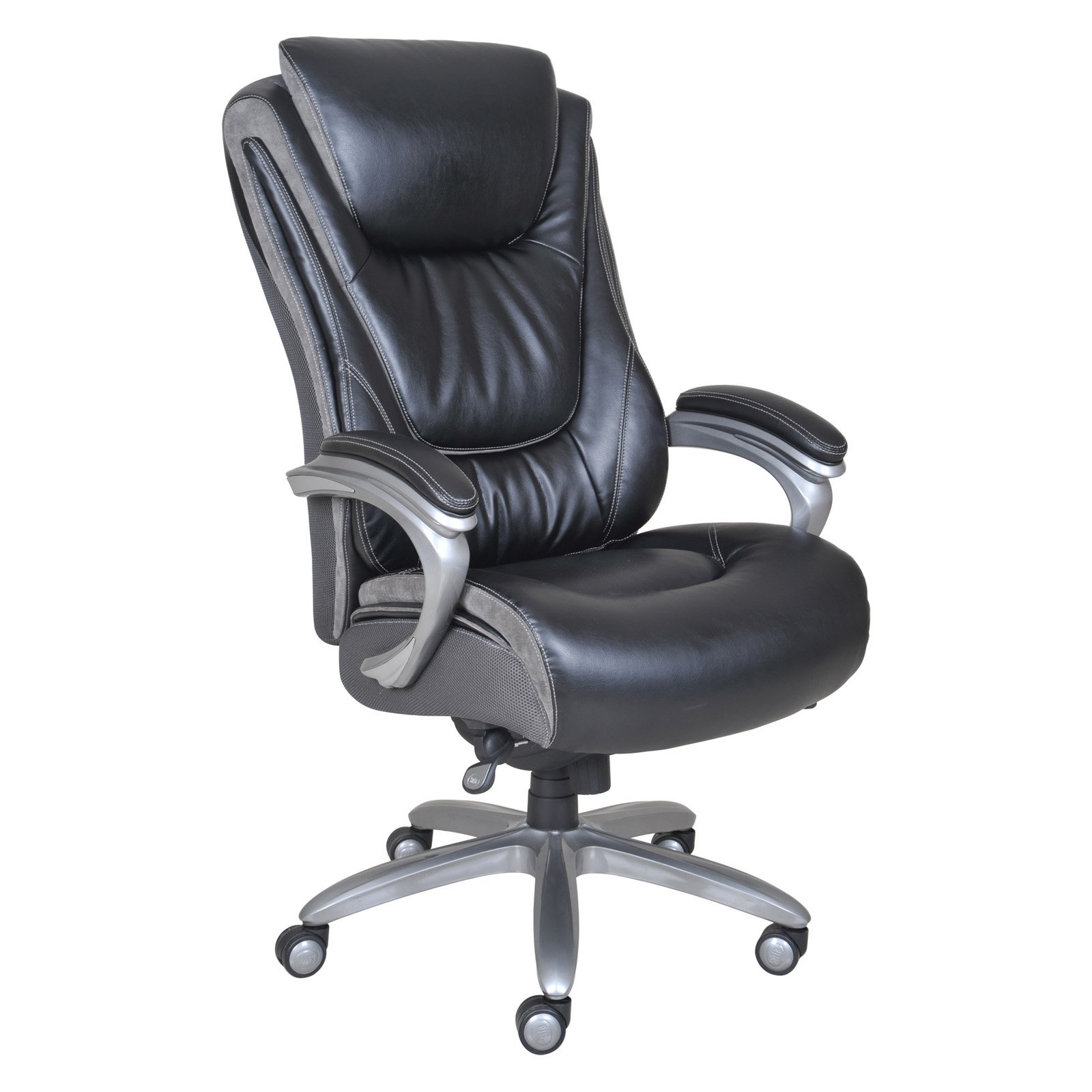 Serta Big and Tall Smart Layers Executive Office Chair Blissfully  sc 1 st  Walmart.com : computer chairs for big guys - Cheerinfomania.Com