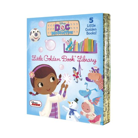 Doc McStuffins Little Golden Book Library (Disney Junior: Doc McStuffins) - Doc Mcstuffins Christmas Wrapping Paper