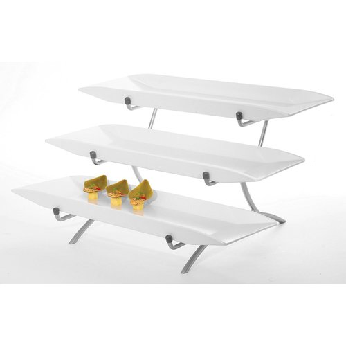 CAL-MIL Metal Incline 3 Tier Stand
