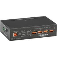 Black Box Industrial-Grade USB Hub, 4-Port