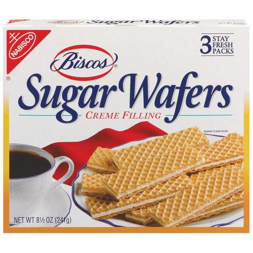 Nabisco Biscos Sugar Wafers, 8.5 oz, 3pk