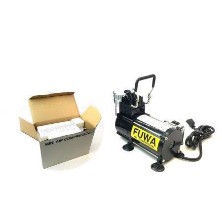 - Fuwa Studio Series Mini Single Piston Air Compressor Machine System