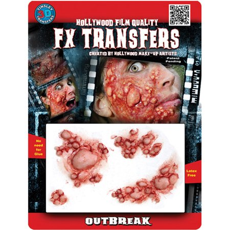 Halloween Professional 3D Tattoo, Outbreak for $<!---->