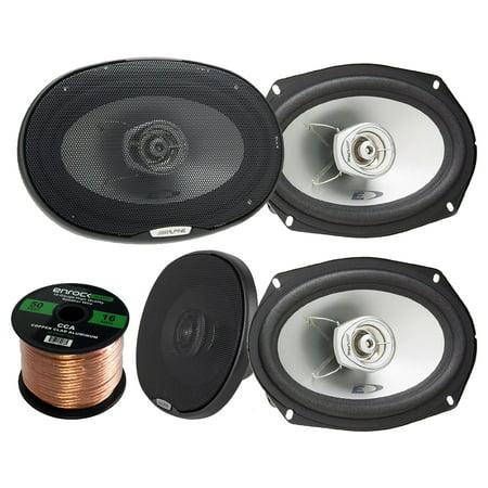 car speaker package 4 x alpine sxe 6925s 6x9 inch 280. Black Bedroom Furniture Sets. Home Design Ideas
