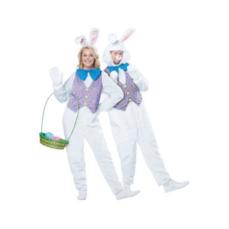 Adult Easter Bunny Costume](Pinstripe Suit Costume)