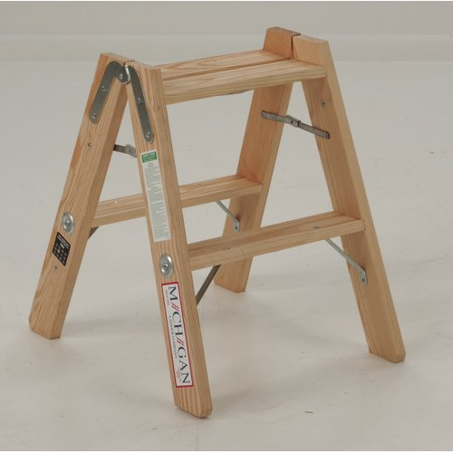 Michigan Ladder 2-Step Wood Double Front Step Stool with 300 lb. Load Capacity & Michigan Ladder 2-Step Wood Double Front Step Stool with 300 lb ... islam-shia.org