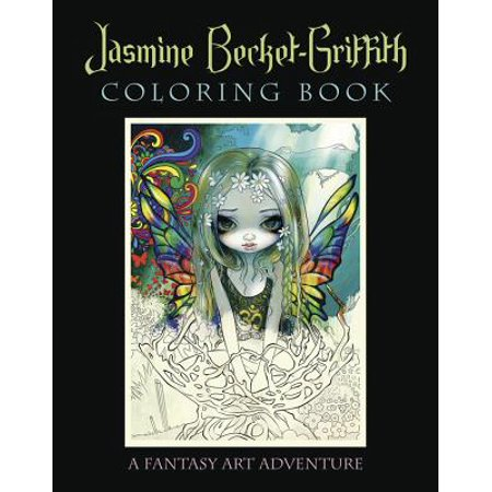 Jasmine Becket-Griffith Coloring Book : A Fantasy Art Adventure - Jasmine Becket-griffith Halloween