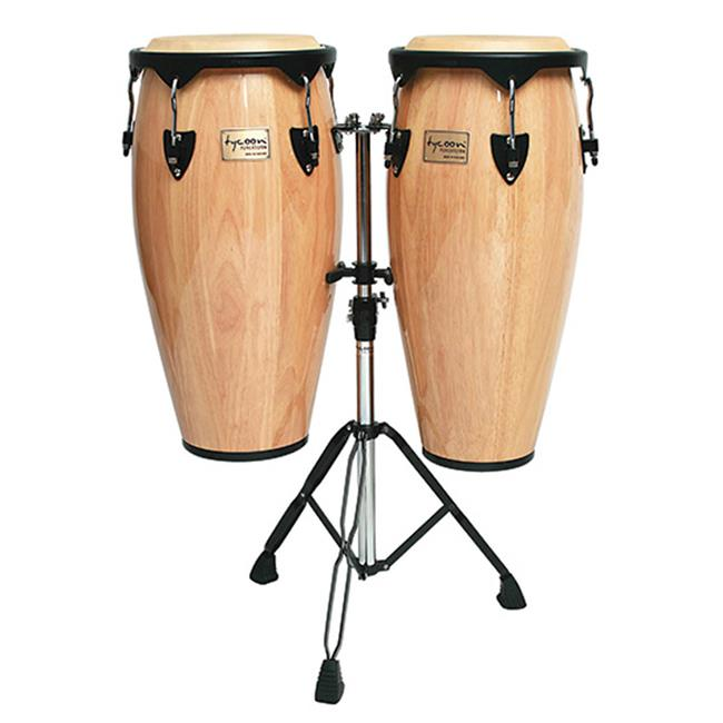 SCY STC-BND Tycoon 10-11 Congas Natural with Stand