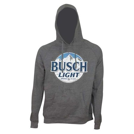 Busch Light 43116XL Round Logo Beer Pouch Hoodie - Extra Large