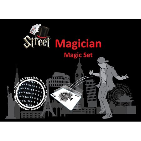 Street Magician Magic Set - 8 pieces including storage