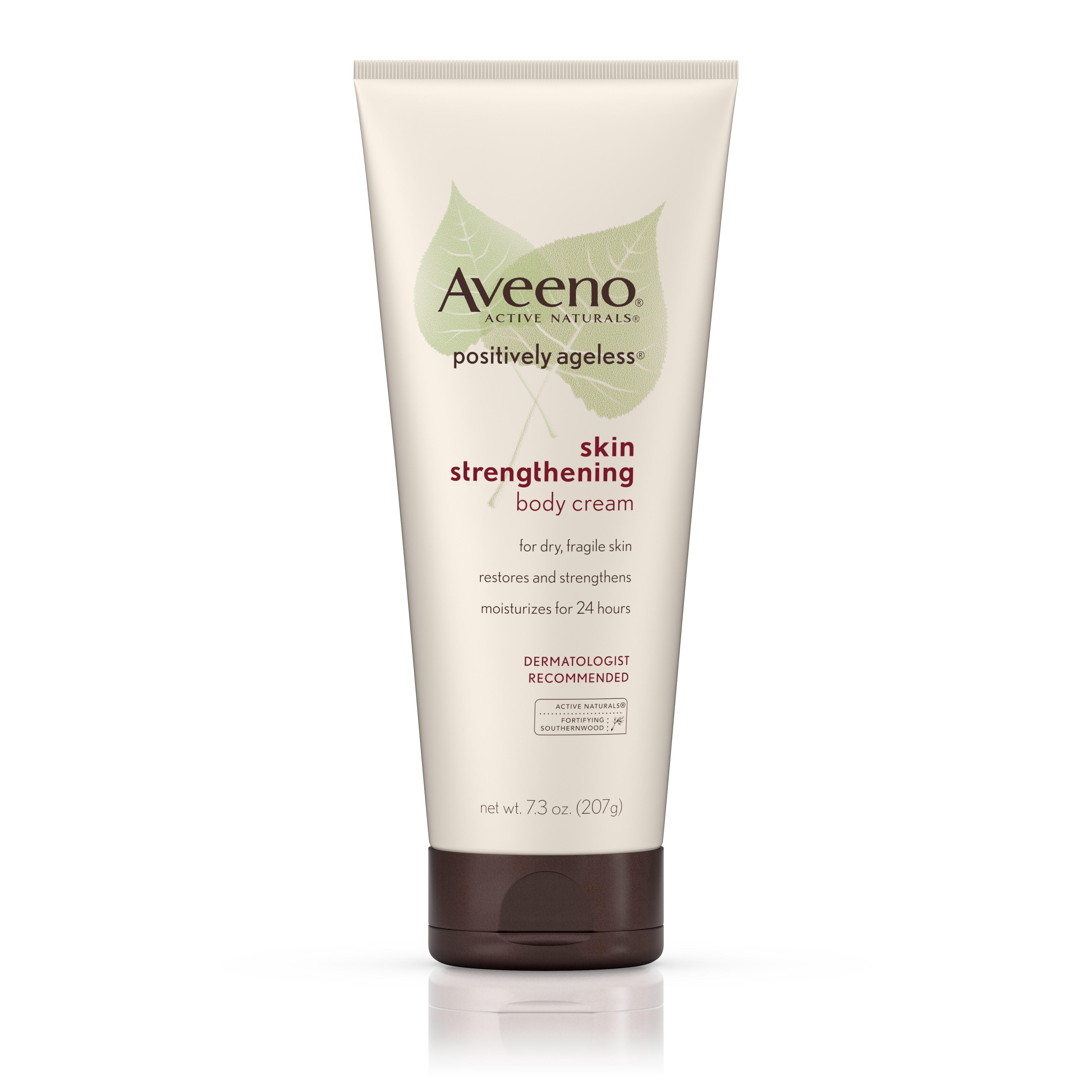 Aveeno Positively Ageless Skin Strengthening Body Cream, Moisturizes For 24 Hours 7.3 Oz by Generic