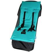 Tivoli Couture MFSL Teal Luxury Memory Foam Stroller Liner, Teal