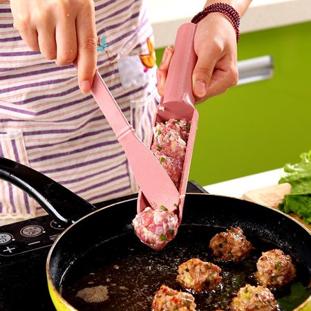 Cooking Essentials Stool - iLH Mallroom Creative Meatball Maker Essential Kitchen Tools Helper Home Cooking Useful New