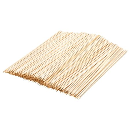 - Barbecue Accessories, Barbecue Skewers, Used for Barbecuing Meat, Poultry, Seafood, Vegetables, Cheese, Fruit, bamboo, 500 Pieces, 12 Inches Long