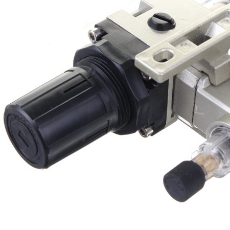 "0.05-0.85Mpa Air Pressure Regulator Oil/Water Separator Trap Filter Airbrush Compressor 1/4"" for Pneumatic Tools and Equipment - image 10 de 11"