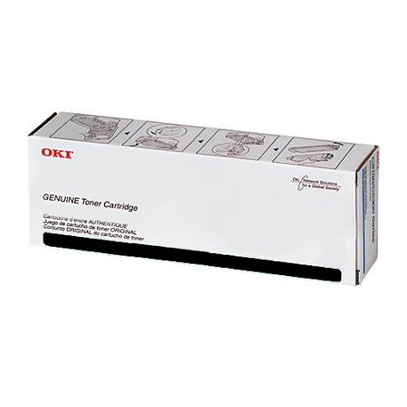 OKI Black Toner Cartridge (15,000 Yield) 45396212 Black 15000 Yield