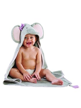 Splish Splash Elephant Bath Spa Hooded Towel 0-6mo