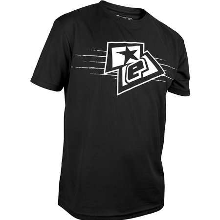 Planet Eclipse T-Shirt - ELogo - Black/White - XS ()