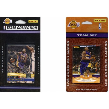 Nba Los Angeles Lakers 2 Different Licensed Trading Card Team Sets