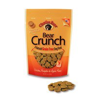 Charlee Bear Bear Crunch Grain-Free Chicken with Pumpkin & Apple Dog Treats, 8 Oz