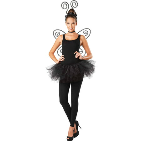 Striped Antenna and Wings Set Adult Halloween Accessory - Halloween Fairy Wings Adults