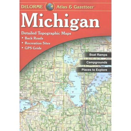 Delorme Atlas Michigan 15e : (Demi Gem)