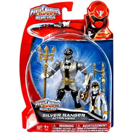 Power Rangers Super Megaforce Silver Ranger Action Figure [Action - Power Ranger Megaforce Halloween